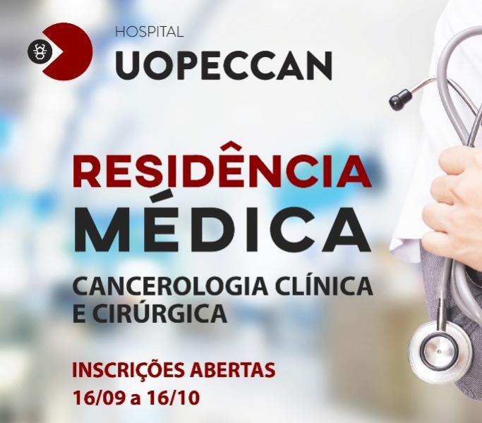 Continua aberto processo seletivo para residência médica na Uopeccan