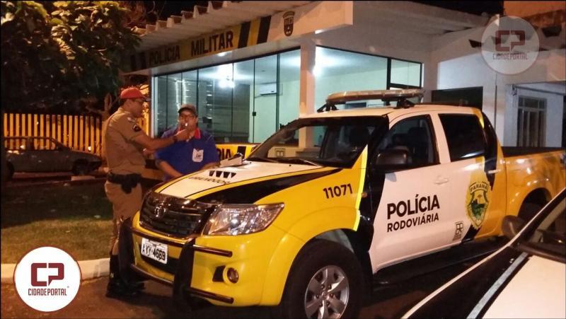 Polícia Rodoviária Estadual do Posto de Santa Helena, realizam atividade alusiva à Semana Nacional do Trânsito