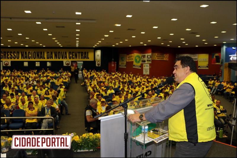 Mauri Viana é eleito vice-presidente da Nova Central de Trabalhadores