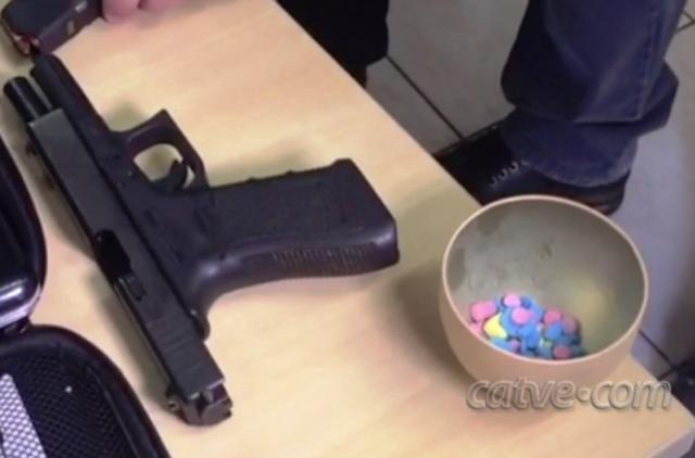 Polícia Federal encontra mesmo tipo de pistola usada para matar agentes em Cascavel, dupla presa diz ser de Goioerê