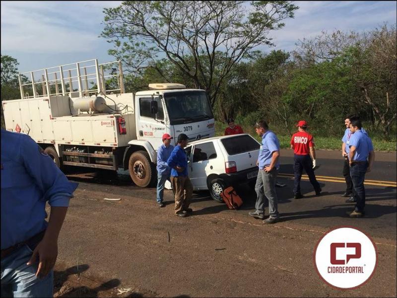 Acidente na PR-323, entre Cruzeiro do Oeste e Tapejara ceifa a vida de uma pessoa