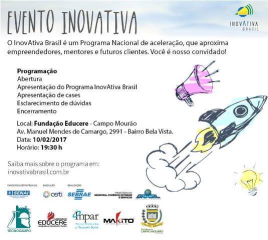 InovAtiva/2017 em Campo Mourão