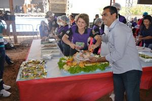 Festa do Pernil à Pururuca é realizado com sucesso, e recebe visitantes de toda a região
