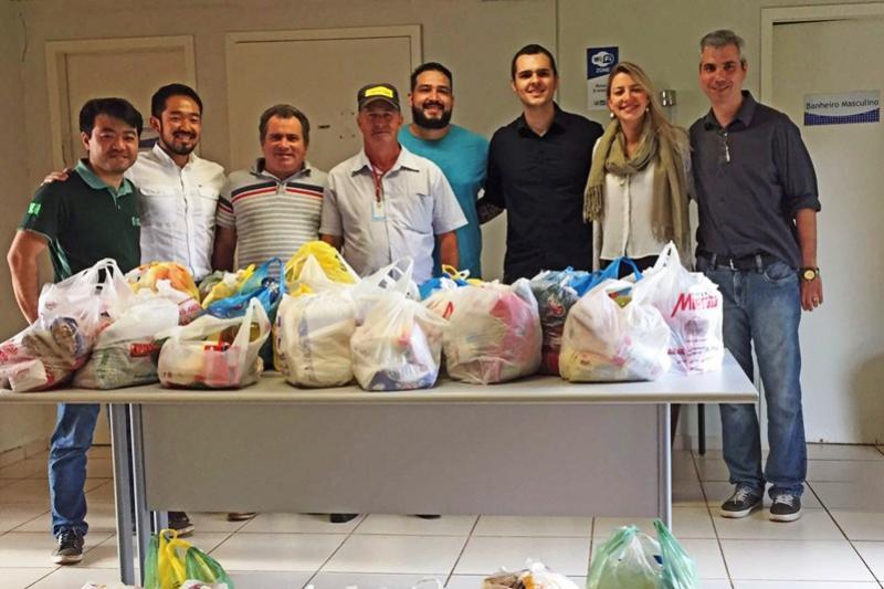 Alimentos arrecadados no Dia da Indústria foram doados ao CTR