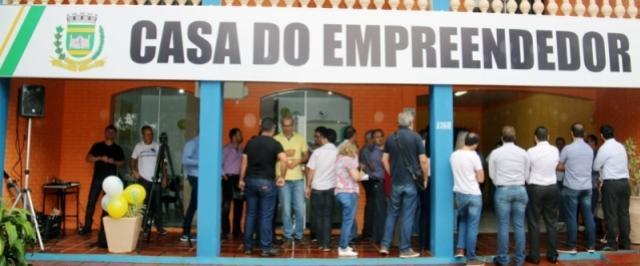 Inaugurada a Casa do Empreendedor