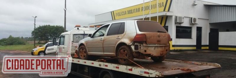 Polícia Rodoviária de Iporã apreende veículo com 59kg de maconha