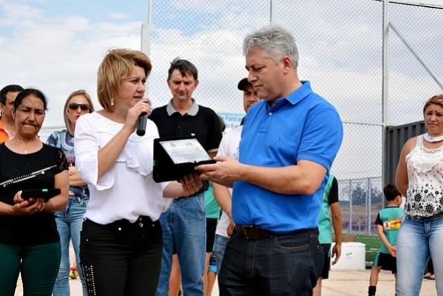 Mini Quadra Sintética é inaugurada no município de Farol