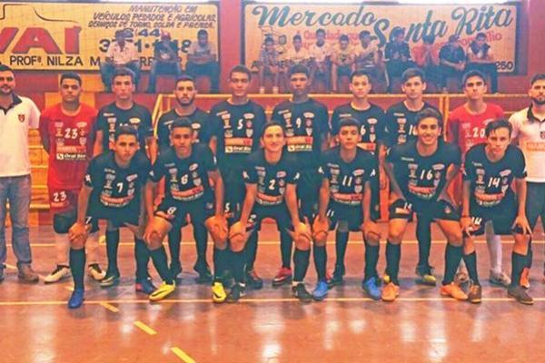 Mourãoenses na segunda fase do Paranaense de Futsal Sub-17