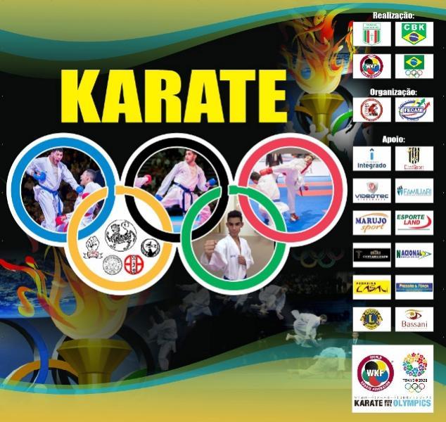 Fase Regional de Karate neste sábado em Campo Mourão