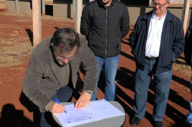 Retomadas Obras de Escola Municipal no Avelino Piacentini