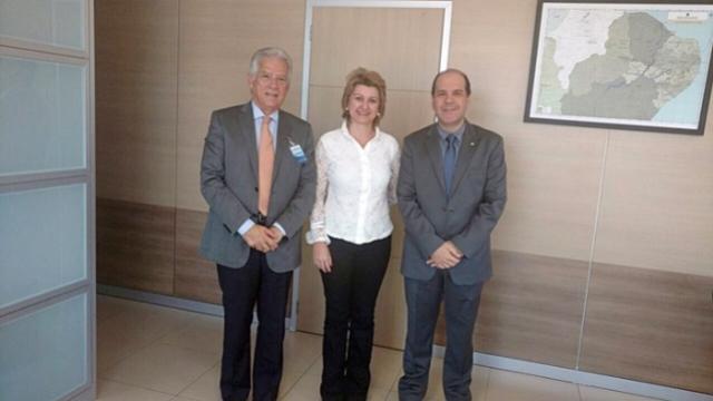 Prefeita Angela Kraus e Deputado Rubens Bueno visitam Ministério da Integração