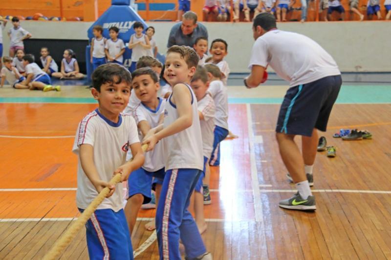 Cabo de Guerra marcou o encerramento dos Jogos Primários em Campo Mourão