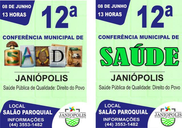 Janiópolis convoca conferência municipal de saúde