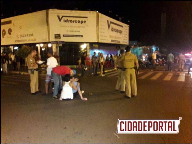 Policia Militar de Campo Mourão realizou atendimento por lesão corporal no mesmo local duas vezes na madrugada de domingo, 26