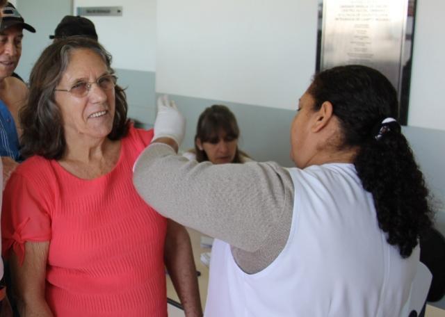 Ampliada faixa etária para vacinação da gripe
