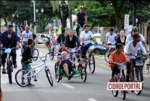 Passeio ciclístico - Umuarama