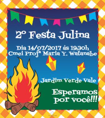 Sexta-feira tem festa Julina no CMEI