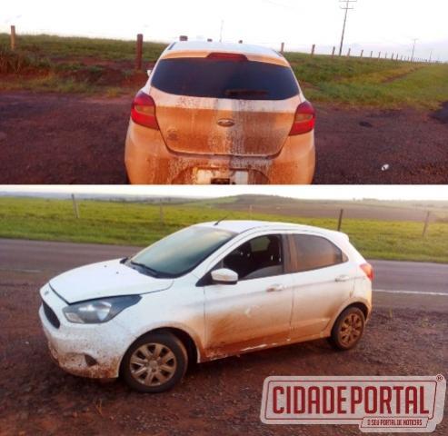 Agentes da Polícia Rodoviária de Goioerê recuperam veículo tomado de assalto em Cidade Gaúcha