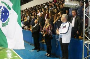 60º Jogos Abertos do Paraná:  Secretário Douglas Fabrício participou de abertura em Roncador