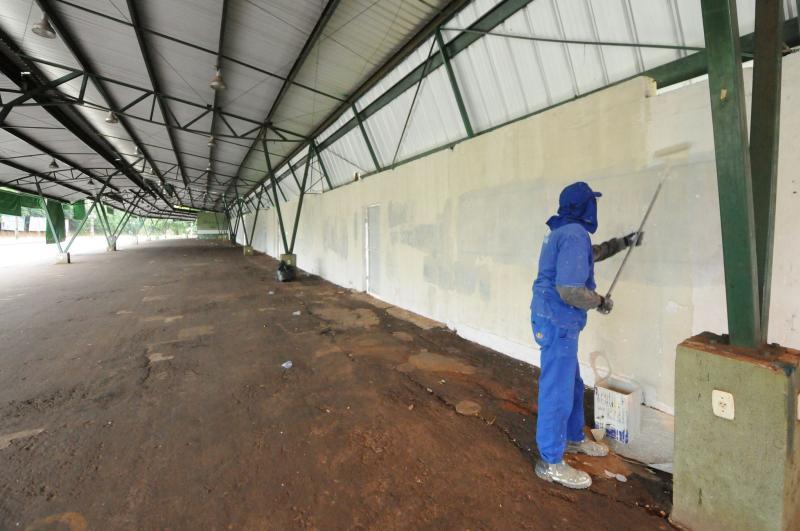 Prefeitura revitaliza espaço da feira do produtor em Umuarama