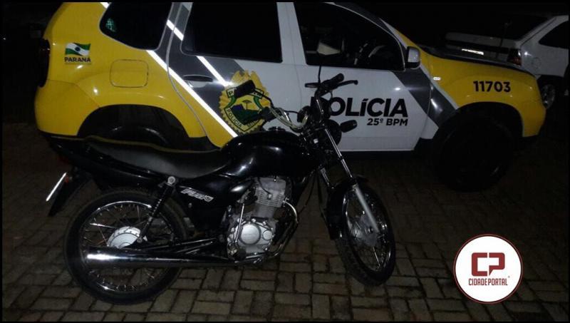 Equipe Policial de Pérola encaminha uma pessoa para delegacia por dirigir embriagado