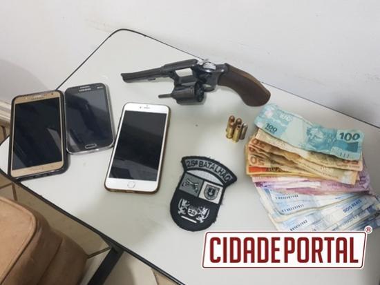 Equipe ROCAM prende assaltantes de restaurante em Umuarama