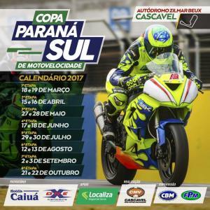 Piloto Alex Kuster, de Ubiratã Vence mais uma etapa da Copa Paraná Sul de Motovelocidade em Cascavel