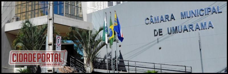 Câmara de Umuarama realizará a primeira sessão extraordinária de 2017