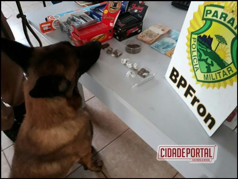 Policiais do BPFRON e policiais 19ºBPM, cumpriram mandados de busca e apreensão na cidade de Marechal Cândido Rondon
