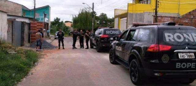 Suspeitos de matar tenente em Campo Largo são mortos em confronto com a polícia