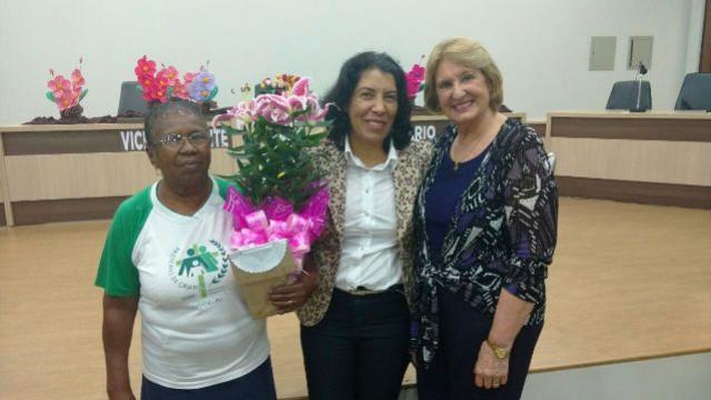 Prefeita de Rancho Alegre do Oeste Suely Alves participou do Seminário ODS que foi realizado em Ubiratã.