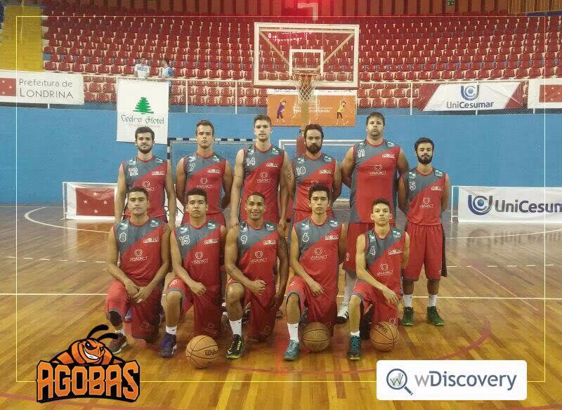 A equipe goioerense de Basquetebol Masculino Adulto participou em Londrina, do 1º Circuito da Taça Paraná de Basquetebol