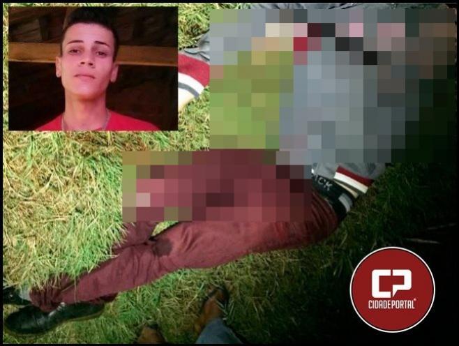 Jovem e morto a tiros na noite deste domingo, 13 na cidade de Moreira Sales