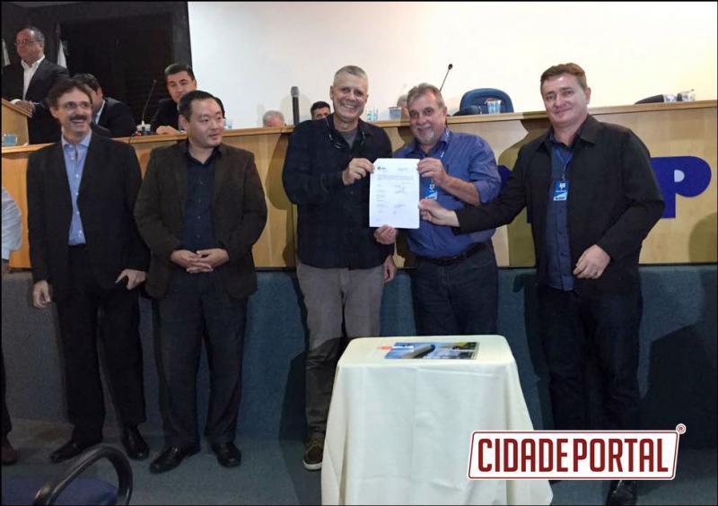 UBIRATÃ EM DESTAQUE:Prefeito Baco assina termo de adesão ao Programa de Especialização em Gestão de Projetos da Itaipu