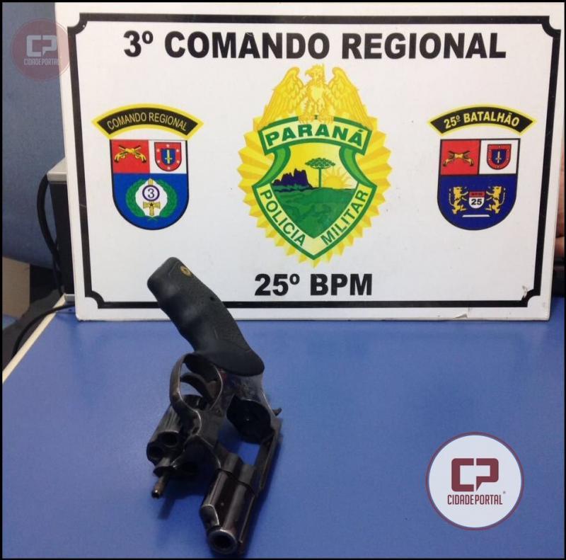 Equipes da Polícia Militar de Umuarama realizam prisão de autor de tentativa de Homicídio e Lesão Corporal