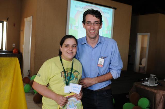 Projeto Semeando o Verde envolve alunos e professores em torno da preservação ambiental