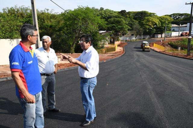 Ponte entre o Petrópolis e San Remo é asfaltada