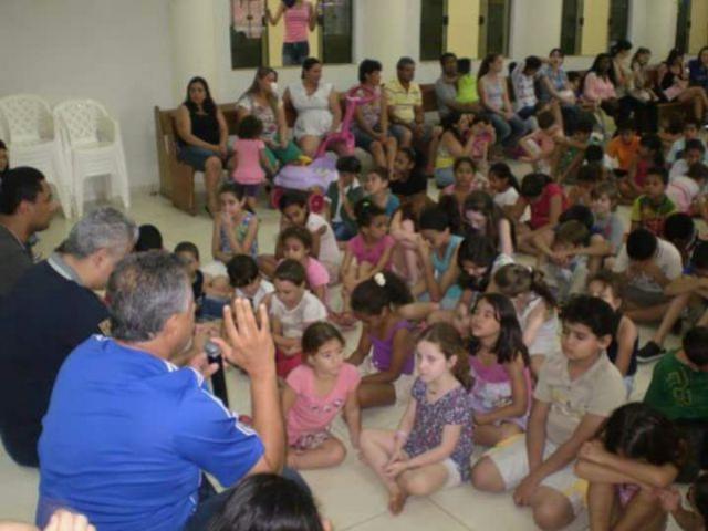 Igreja Batista Maranata realiza o Dia da  Alegria para comemorar o Dia das Crianças