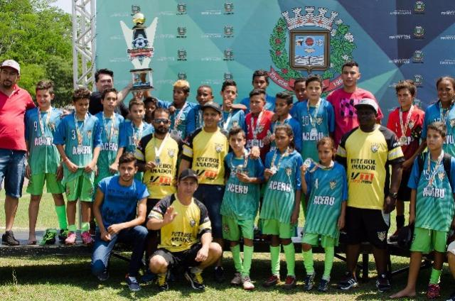 Interbairros e Distritos de Futebol inicia agora a categoria sub-15