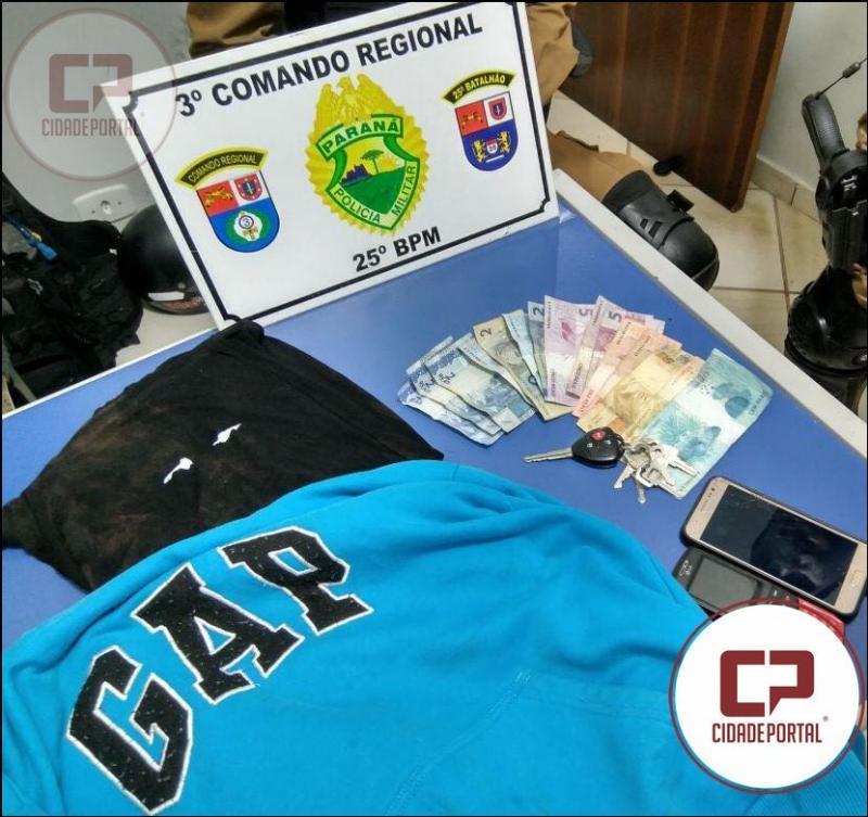 Equipe Rocam de Umuarama recupera caminhonete roubada em nova Londrina-PR e prende duas pessoas
