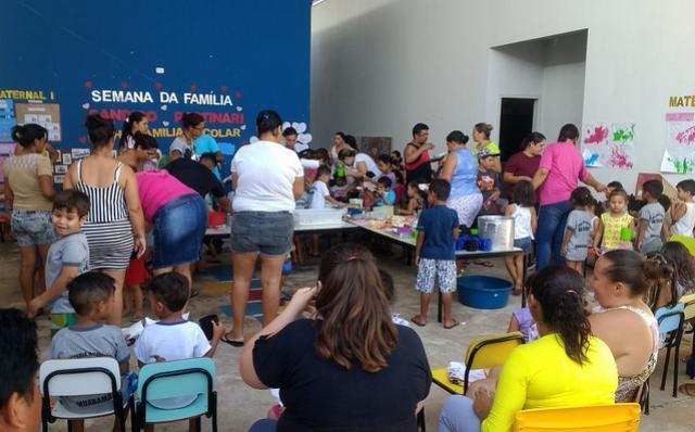 Escola Cândido Portinari realizou Semana da Família
