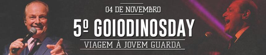 5º GoioDinosDay em Novembro