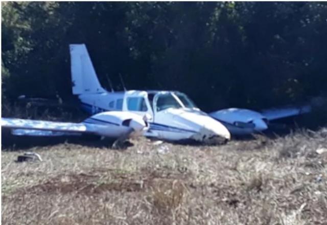Avião faz pouso forçado em Francisco Beltrão