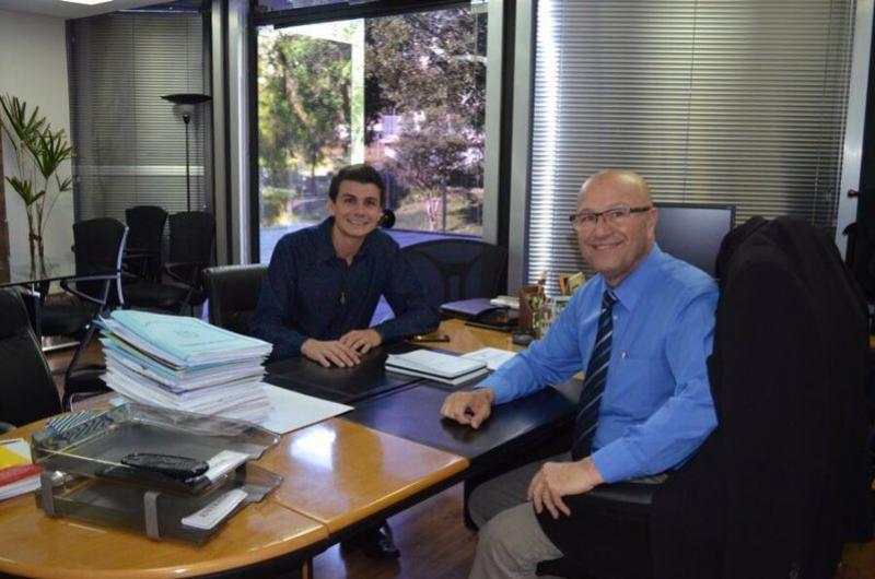Prefeito Rafael Bolacha conquista recursos através do Deputado Romanelli com o DER-PR