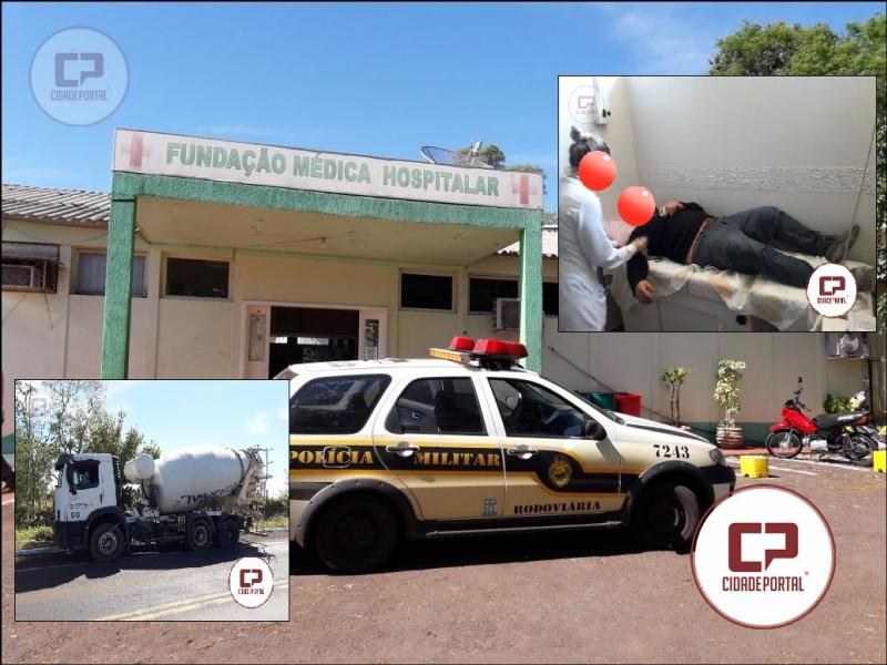 Policial Militar Rodoviário salva condutor com sintomas iniciais de infarto