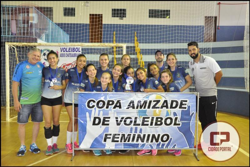 Vôlei: Juranda mantém 4º lugar após penúltima etapa da Copa Amizade