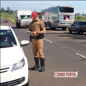Batalhão Rodoviário da PM deflagrou operação de prevenção ao uso de bebidas alcoólicas em todo o Paraná