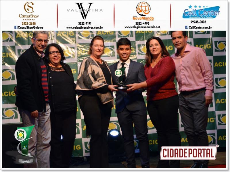 Colégio Novo Mundo consolidado mais uma vez como melhores do ano premio Acig-2016 como ensino médio privado