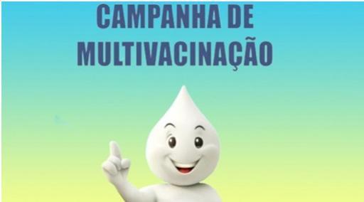 Todas as unidades de saúde estão abertas  neste sábado, 16, das 08h00 as 17h00 - Campanha de Multivacinação