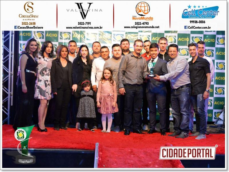 Goiomarmore é eleita a melhor marmoraria do ano 2016 - recebeu prêmio Acig neste sábado, 10
